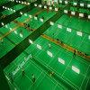 O revestimento do vinil do PVC para o Badminton ostenta jogos do clube da corte