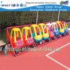 子供プラスチック車の棚のおもちゃの運動場装置Hf18702