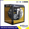 Compresseur d'air industriel de vis de refroidissement à l'air d'utilisation