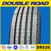 O barramento radial do caminhão da câmara de ar interna de Doubleroad monta pneus pneumáticos radiais do caminhão leve da câmara de ar de 7.50r16 900r20 825r16