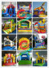 Inflatable Jumping Castle. Inflatable Castle. Inflatable Slide