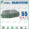 55W 휴대용 태양 조명 시설 (PETC-FD-55W)