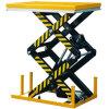 Testeur de table à double ciseaux hydraulique hydraulique