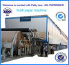3200m m Type Big Capacity 100 T/D Corrugated Paper Making Machine Usar Waste Paper como Raw Material