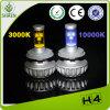 faro del CREE 30W H4 LED di 3000lm 6500k