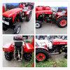 Ce keurde de Hete Tractor van de Tuin van de Verkoop 40HP met het VoorBlad Trailer/Plough van de Lader/van de Sneeuw goed