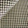3k fibra amarilla y negra de 200g de Kevlar del carbón