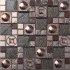 나무로 되는 Mosaic, Steel Wire Tile, Metal Mosaic Tile를 가진 Crystal Embed