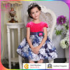 Robe de bal d'étudiants de jeune fille, usage formel de partie de vêtements d'enfants