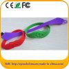 주문 자유롭의 로고 실리콘 팔찌 USB Pendrive 선전용 선물 (EG603)