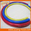 Tuyaux d'air à haute pression colorés de PVC