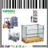 Stapelbarer Speicherdraht-Rasterfeld-Ineinander greifen-Behälter