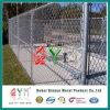Покрынная PVC гальванизированная загородка звена цепи провода для полей бейсбола