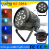 Mini 7X10W 5in1 LED PAR Light voor Disco (sf-309)