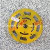 roda de moedura bond de lustro do metal do sistema do granito 8-Step grão de superfície 50/200/400 de 10 artigos consumíveis de máquinas de polonês da polegada