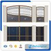 Puerta revestida galvanizada y del polvo de alta resistencia del hierro labrado