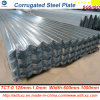 La hoja de la placa de acero/del material para techos/el material de construcción galvanizó la bobina de acero 0.14m m