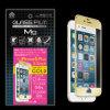 Magnesio Metal Frame Tempered Glass Film para iPhone6 Plus