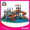 Оборудование серии 2016 замока Цезар наиболее поздно напольное/крытое спортивной площадки, пластичное скольжение, парк атракционов GS TUV (KC-008)