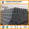 Buena calidad y tubo de acero que suelda del mejor servicio para la estructura de acero y construir