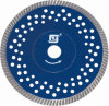 Pequeño Teeth Turbo Diamond Blade con Own Flange y Holes para Granite
