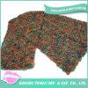 Testes padrões feitos malha Boucle de tecelagem do lenço da camisola do inverno do fio de algodão