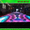 Professioneel Kleurrijk RGB Gevoelig Interactief VideoDance Floor