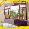 Proveedor de aluminio produce ventanas de aluminio con perfiles de extrusión de aluminio