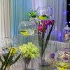 Ваза домашнего украшения акриловая, кристаллический ваза