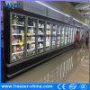 Anti - Fog Hinge Glass Door Beverage Display Cooler with Ce Approved