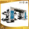 Machine d'impression flexographique de poly film de sac de 4 couleurs