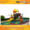de 114mm Gegalvaniseerde Post Kleurrijke Apparatuur van de Speelplaats van de Kinderen van het Dak van het Konijn Openlucht