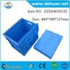 Caixa de armazenamento plástica de frutas dobráveis, caixa de recipientes de armazenamento de plástico