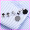 Goujons de collier réglés neufs de la robe 6PCS d'Onyx d'argent de qualité de VAGULA D.C.A. 265