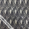 Riga girante tessuto di nylon del merletto del cotone di disegno