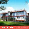 China prefabricó la casa de acero ligera del chalet como edificio de oficinas modular
