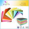 Cor brilhante de dobramento da polpa do Virgin do Fsc BSCI do padrão europeu do bloco das cores 100sheets do papel 10 da cor