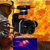 Macchina fotografica termica infrarossa del Flir VUE per il ronzio con la registrazione di prova di temperatura
