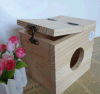 햄스터 나무로 되는 마우스 집 은신처