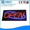 Wasserdichtes LED geöffnetes Zeichen des Hidly Vierecks-