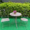 型のセメントの灰色の庭のビストロセット