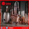 Distillerie approuvée de vodka de la CE à vendre 300gal de reflux de fléau toujours le procédé chauffé à la vapeur d'esprit d'eau-de-vie fine de vodka de genièvre de rhum de whiskey pour préparer l'éthanol