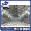 Granja de pollo prefabricada del panel de emparedado de la fábrica de la certificación de la ISO
