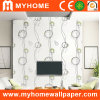 Simple moderne Design Wall Panel Wallpaper pour Walls