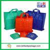 Preiswertes mehrfachverwendbares Geschenk-faltende Träger-faltbare Einkaufstasche