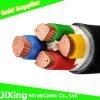 Type cable électrique de Yjv de cuivre de noyau de l'isolation 4 de XLPE