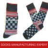Glückliche Socken-Art der Männer der Socke