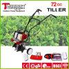 72cc mejor precio Alta Potencia Jardín Mano cultivador de empuje