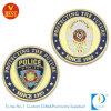 Policía modificada para requisitos particulares de calidad superior de la cara 3D conmemorativa o moneda del recuerdo en metal