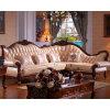 Деревянные кожаный угловойые софа/кровать софы (D802)
